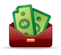 cash and wallet icon
